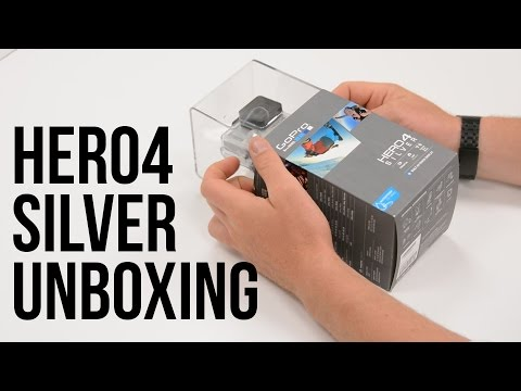 GoPro HERO4 Silver Unboxing