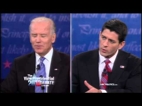 "Joe Biden to Paul Ryan: ""Oh, Now You're Jack Kennedy"" (2012 Vice Presidential Debate)"