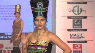 8. Egyptian Theme - INIFD Deccan Pune Annual Fashion Show 2016 - The Unbroken Bond