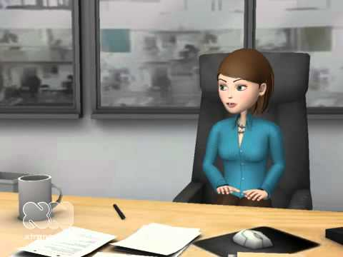 Funny Interview at Law firm goes bad xtranormal