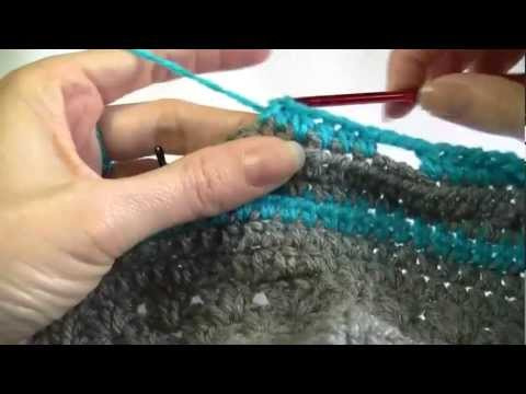 Granny Square Jacket Crochet Tutorial Part 2 of 2