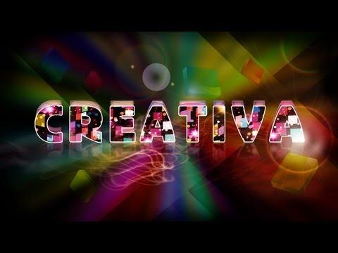 Tutorial Photoshop: Texto y wallpaper efecto luz y color.