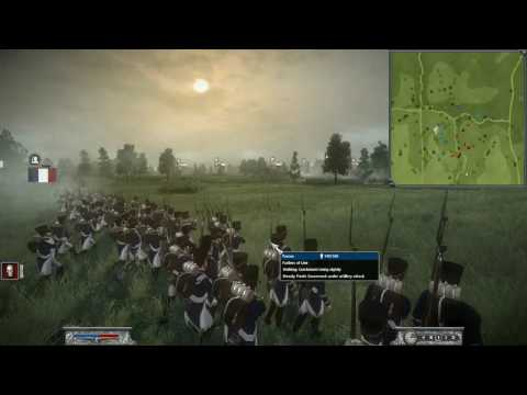 Napoleon Total War HD France vs Russia Synoptic #2 Commentary Online Battle -Generals- P1/2
