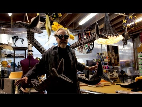 Adam Savage Builds Patton Oswalt's Halloween Costume