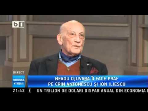 Neagu Djuvara - despre Crin Antonescu si Victor Ponta