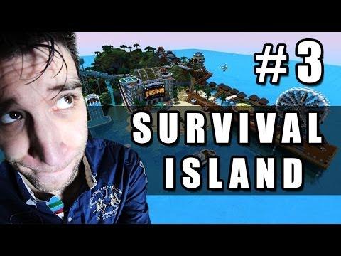 David's Minecraft Eiland #3 - Tieten van je Oma?!