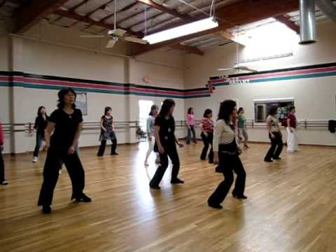 Hippy Dippy Mambo Line Dance (Demo & Walk Through)
