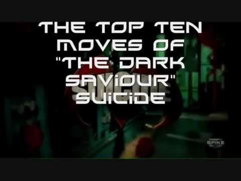 The Top 10 Moves Of 'The Dark Saviour' Suicide
