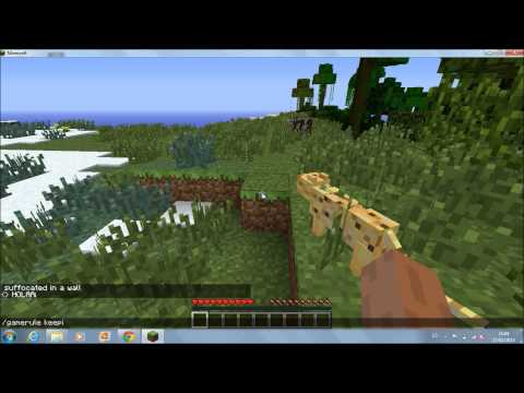 minecraft truco no perder items