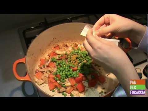 Video ricetta: paella con carne e pesce