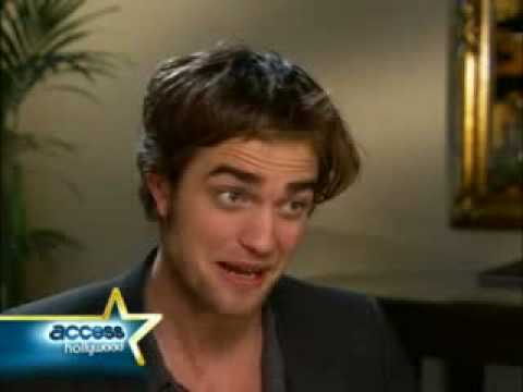 Robert Pattinson Interview-Really Funny