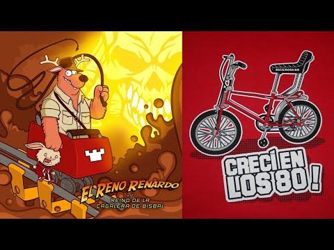 RENO RENARDO - Crecí en los Ochenta (letra+videoclip)