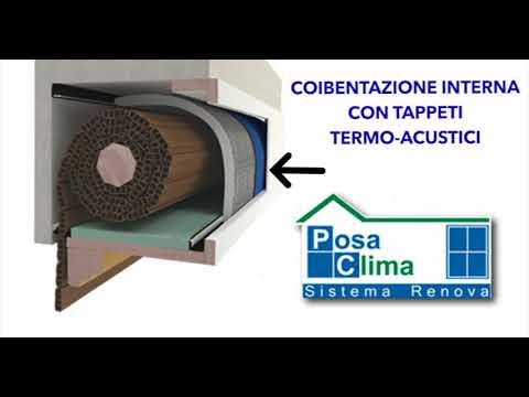 Riqualifica con isolamento termico-acustico cassonetti - Video - Chiaravalli dal 1908