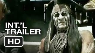 The Lone Ranger International Trailer (2013) - Johnny Depp Movie HD