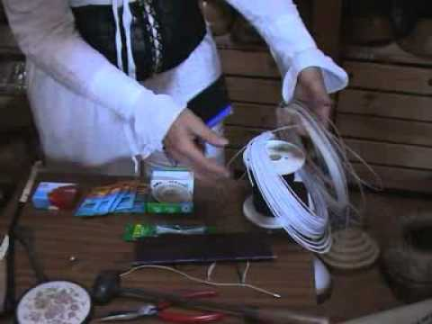 Hat making tools tutorial with Waltraud Reiner (Torb & Reiner)