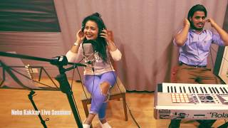 Tere Liye Neha kakar dedicate song to her brother live  session