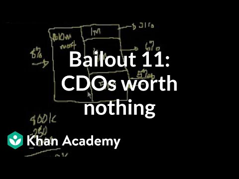 Bailout 11: Why these CDOs could be worth nothing