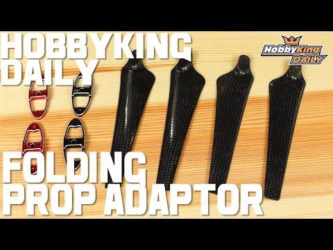 Folding Prop Adaptor - HobbyKing Daily - UCkNMDHVq-_6aJEh2uRBbRmw