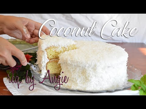 Coconut Cake   requested by Angie