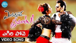Yegiri Pove Video Song | Endukante Premanta