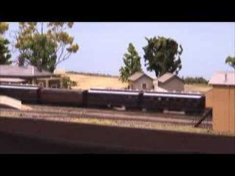 Eskbank c1899 NSWGR - part 3 - Australian Model Railway Layout (Lithgow NSW)
