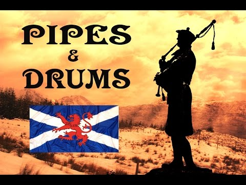 Scottish Pipes & Drums ~The Gael~ Albannach.