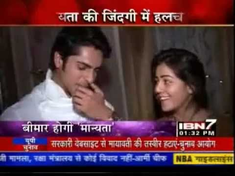IBN7 - 10th Jan 2012 - Udayveer & Manyata