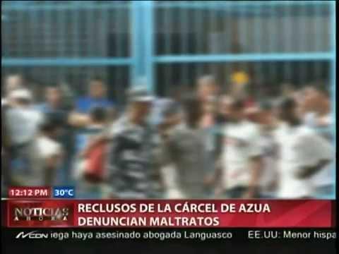 Presos abusan de otros en la cárcel del 15 de Azua.