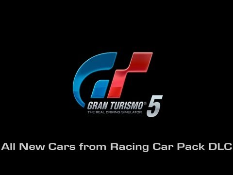 Gran Turismo 5 - All New Cars from Racing Car Pack DLC