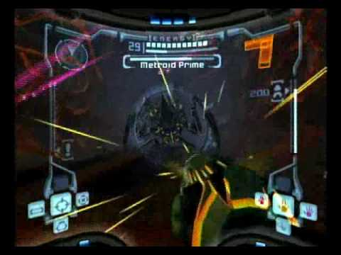 Metroid Prime - Final Boss (Metroid Prime) [Part 1/4]