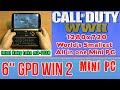 GPD WIN 2 Call of Duty: WWII 2 - 256 GB SSD 8GB RAM Mini PC Intel m3-7Y30 HD Graphics 615