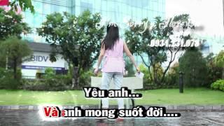 Yêu em karaoke ( only beat )