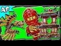 FIRE TEMPLE 2507 Lego Ninjago Animated Building Set Review