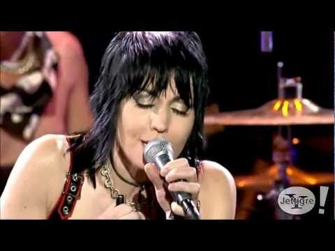 Joan Jett - Crimson &amp; Clover / I Hate Myself ( Live )