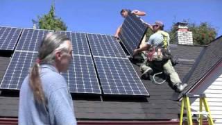 Instalasi Solar Home System