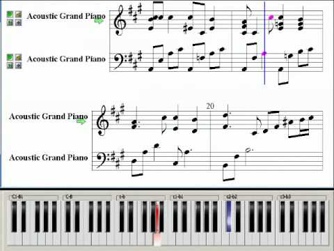 It Sits Gently In The Wind (Coffee Prince OST) ~ Music Piano Sheet