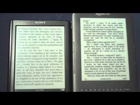 Kindle 3 vs Sony PRS-650 Review