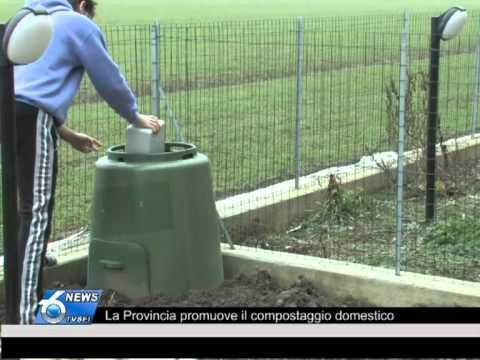 La Provincia promuove il compostaggio domestico