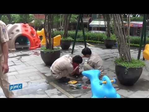 The Van Phu Victoria – Thiết kế lắp đặt khu vui chơi cho trẻ em