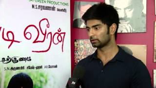 Watch  Chose Chandi Veeran On the Advice of Director Bala - Actor Atharvaa Red Pix tv Kollywood News 01/Aug/2015 online