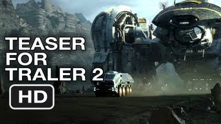 Prometheus Teaser for Trailer - Ridley Scott Alien Movie (2012) HD