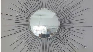 Como Hacer Un Espejo Decorativo Elegant Decoracin De Espejos