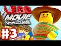 The LEGO Movie Videogame - Gameplay Walkthrough Part 3 - The Old West (PC, Xbox One, PS4)