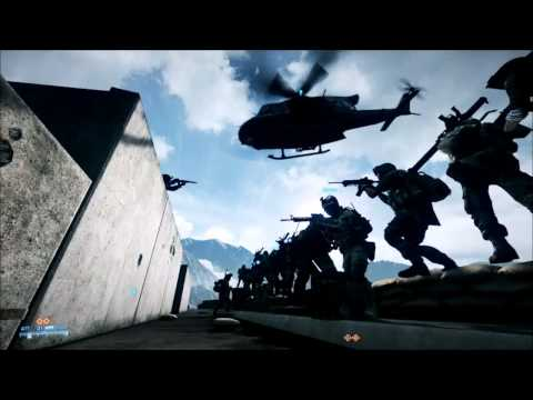Battlefield 3 EPIC 32 Man Base Jump
