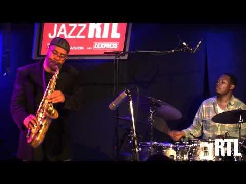 Kenny Garrett Quartet - Wiggins en live dans l'Heure du Jazz RTL présentée par Jean-Yves Chaperon