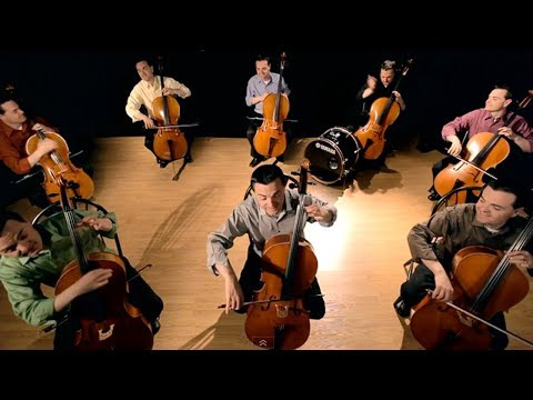 Steven Sharp Nelson - The Cello Song - Bach is back (with 7 more cellos)