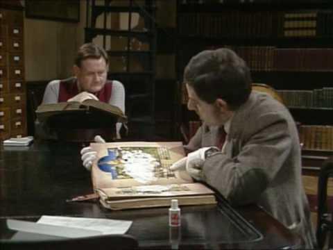 Mr Bean tại thư viên
