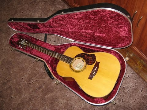 Testing  my new Maton  guitar  ( The Diggers- Waltz )