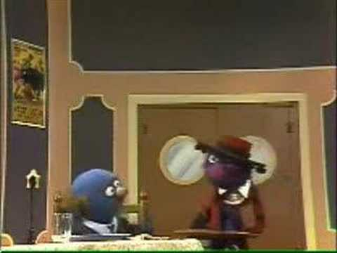 Sesame Street - Waiter Grover -  Grover the dancing Waiter