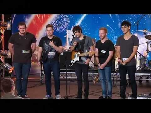 Beside Lights - West Coast Band - Australia's Got Talent 2012 audition 2 [FULL]